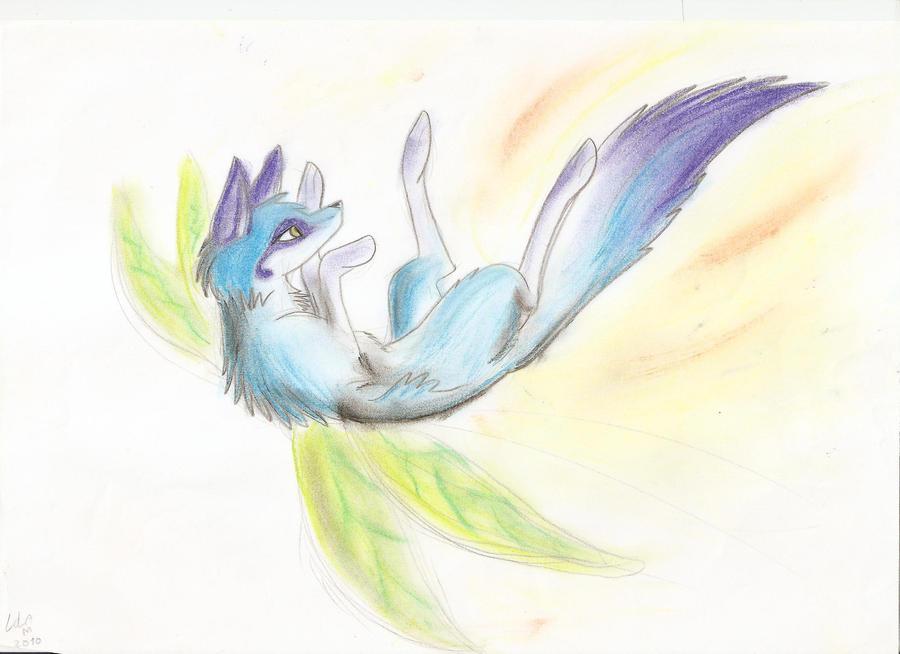 Dessin et Cosplay~ Vanilla Fairy_fox_by_myusuran_blackwolf-d4t8blr