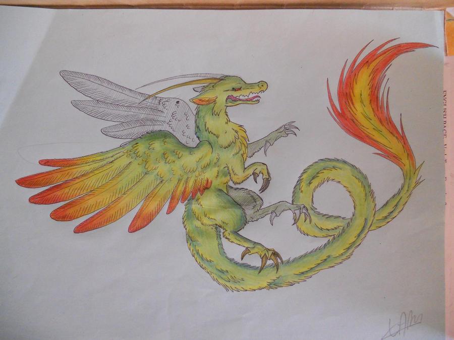 Dessin et Cosplay~ Vanilla Dragon__by_myusuran_blackwolf-d4u8q7h