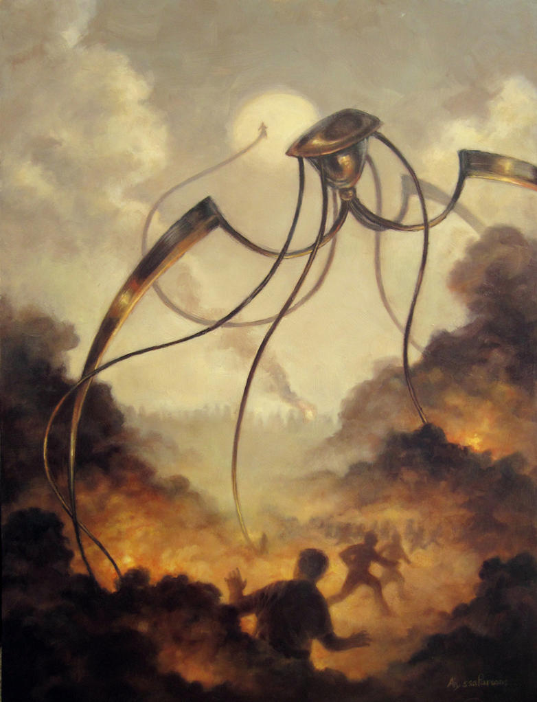 War Of The Worlds By AnnPars On DeviantArt