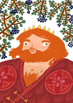 Marislav, king of chokeberry