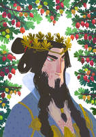 Rochus, king of  gooseberry by Bard-the-zombie