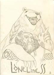 hero3 (Lone Druid) por Bard-the-zombie