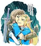 Crying Zelda