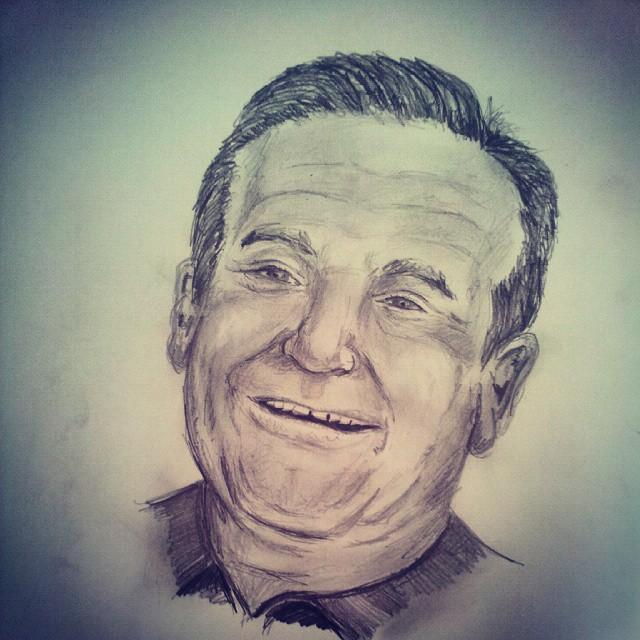 Robin Williams by JTBeast