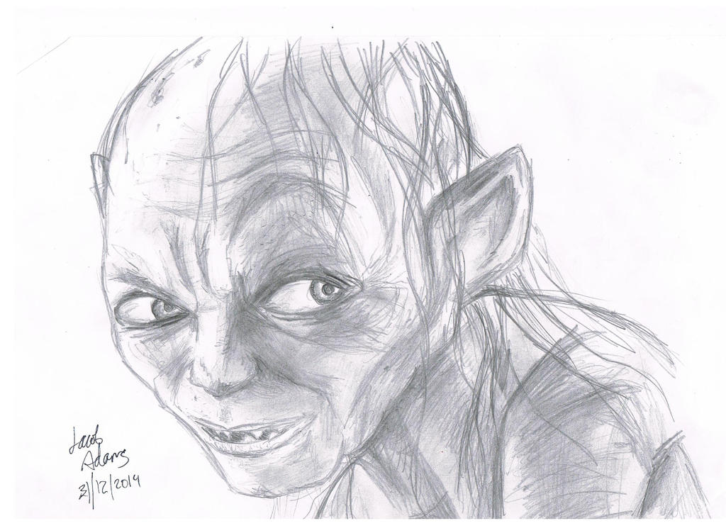 Gollum!!! by JTBeast