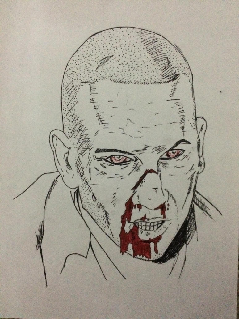 The Walking Dead Shane (Version 1) by JTBeast