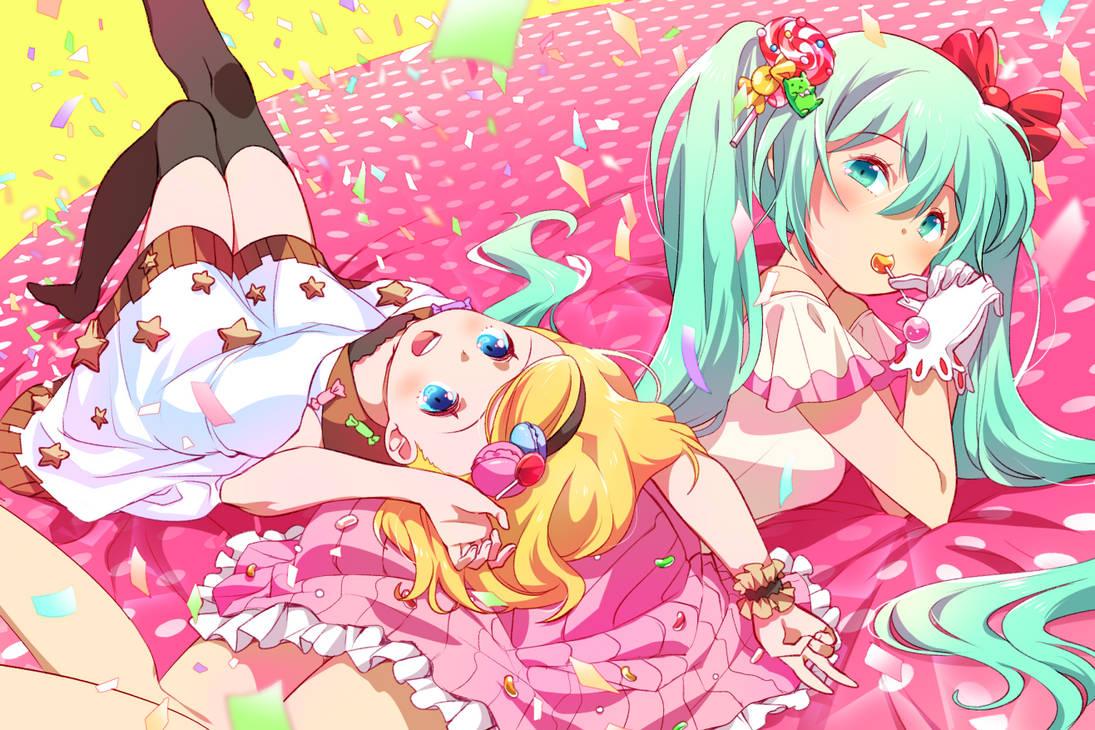 Vocaloid: Candy Confetti