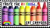 Taste The Rainbow Stamp by Sky-Yoshi