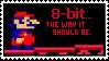 8-Bit Stamp by Sky-Yoshi