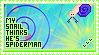 Spider Snail Stamp by Sky-Yoshi