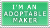 Adoptable Maker Stamp