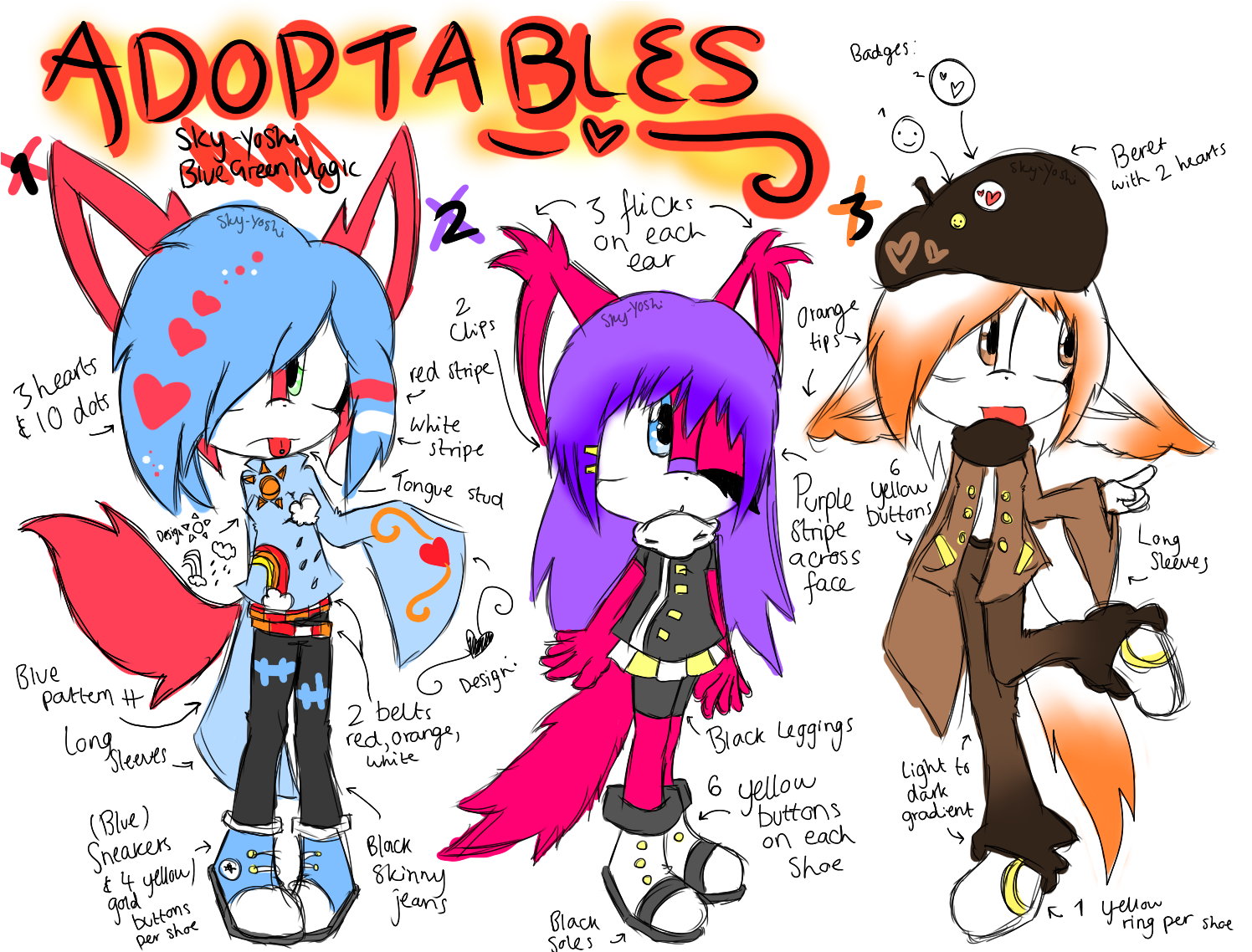 Adoptable Auction +CLOSED+ by Sky-Yoshi