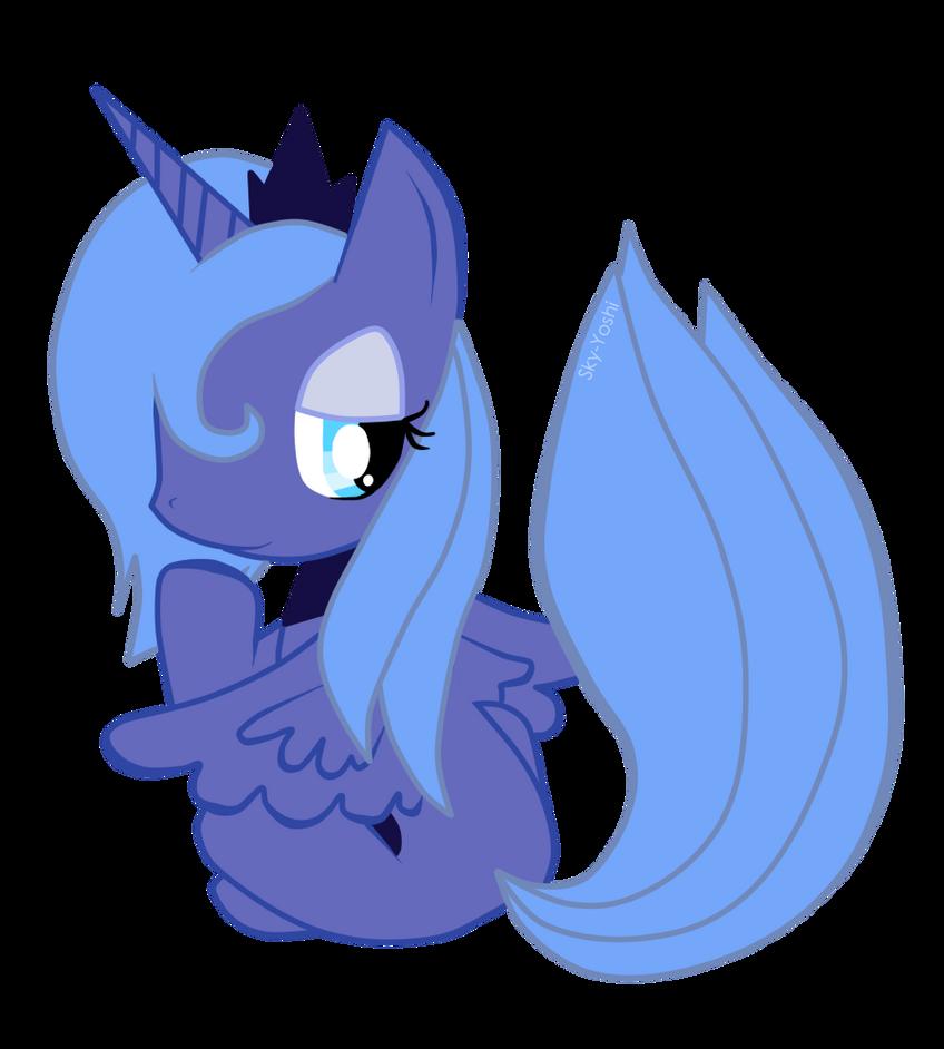 .:Princess Luna:. by Sky-Yoshi