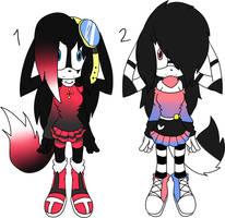 Sonic Adoptables +TAKEN+ by Sky-Yoshi