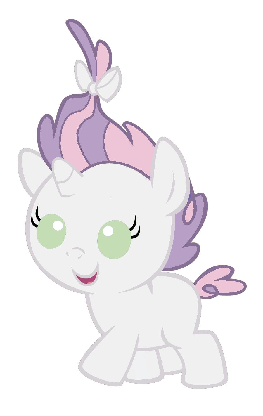 My little pony sweetie belle baby - photo#6