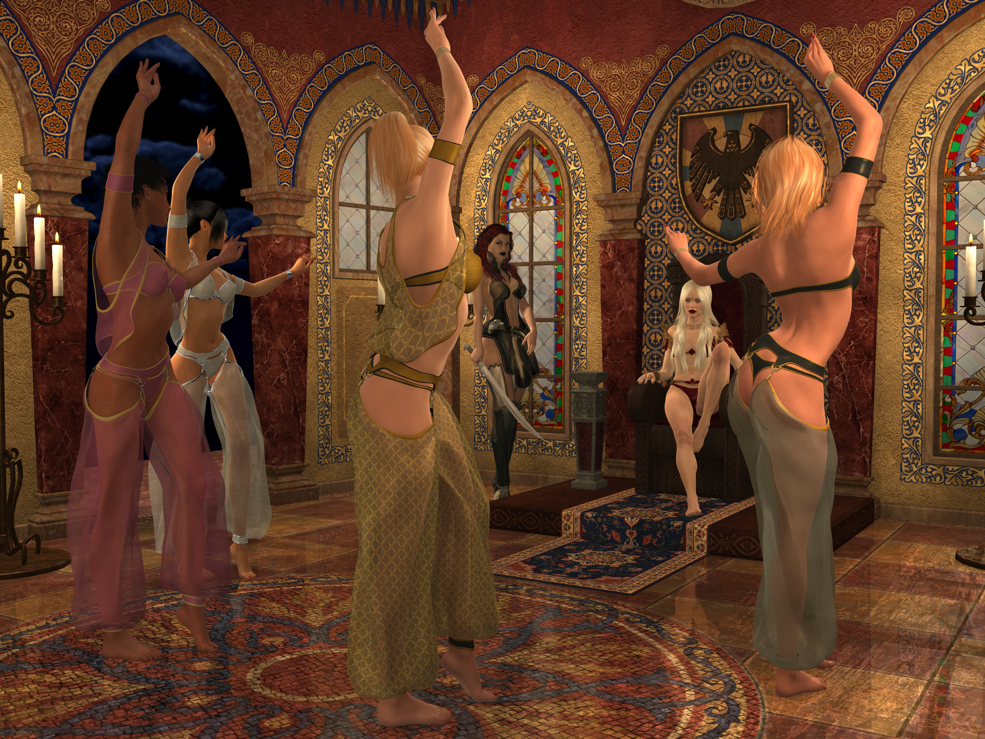 Harem 3d fucking photo