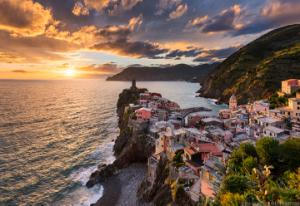 Song Of The Sea    Vernazza Cinque Terre Italy