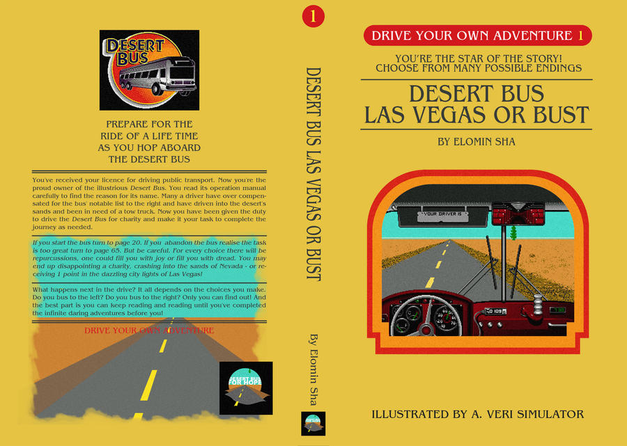 Desert Bus DYOA Cover 1 by Judan