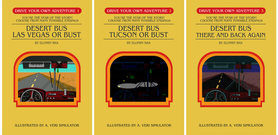 Desert Bus Trilogy by Judan