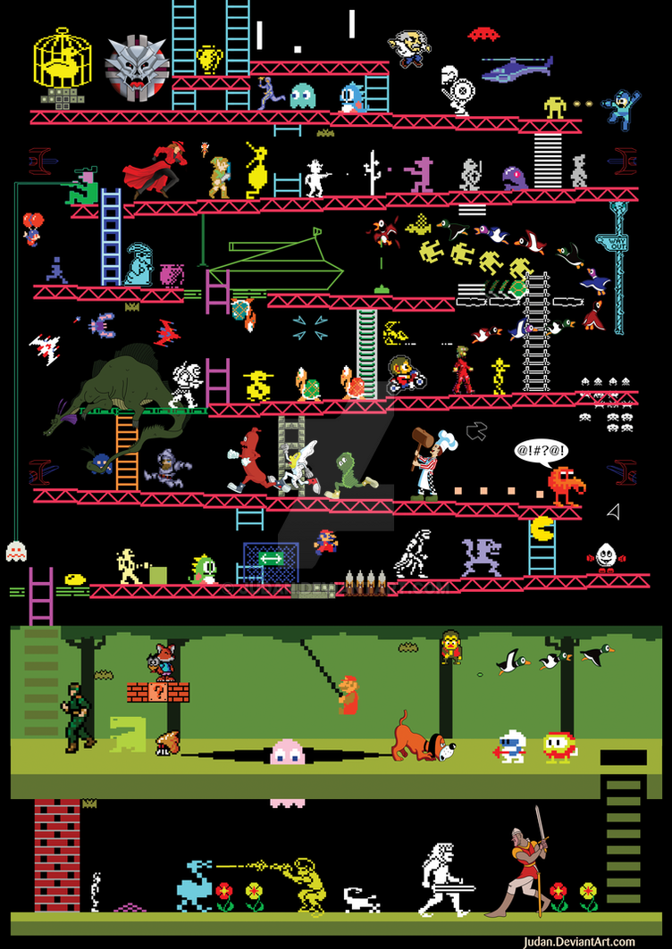 Classic Video and Arcade Games by Judan