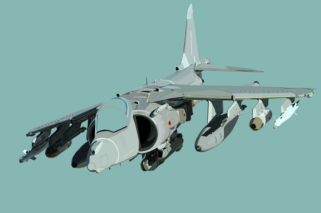 WIP - Harrier by Judan