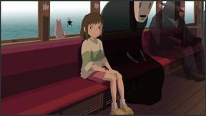Spirited Away - Chihiro and No-Face