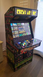 Arcade Classics on an Arcade Unit by Judan
