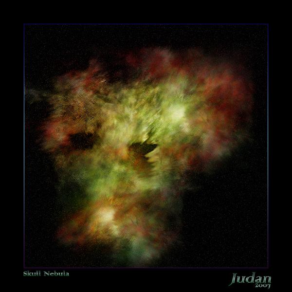 Skull Nebula by Judan
