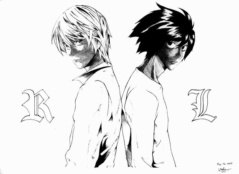 L and Light by jeng3x