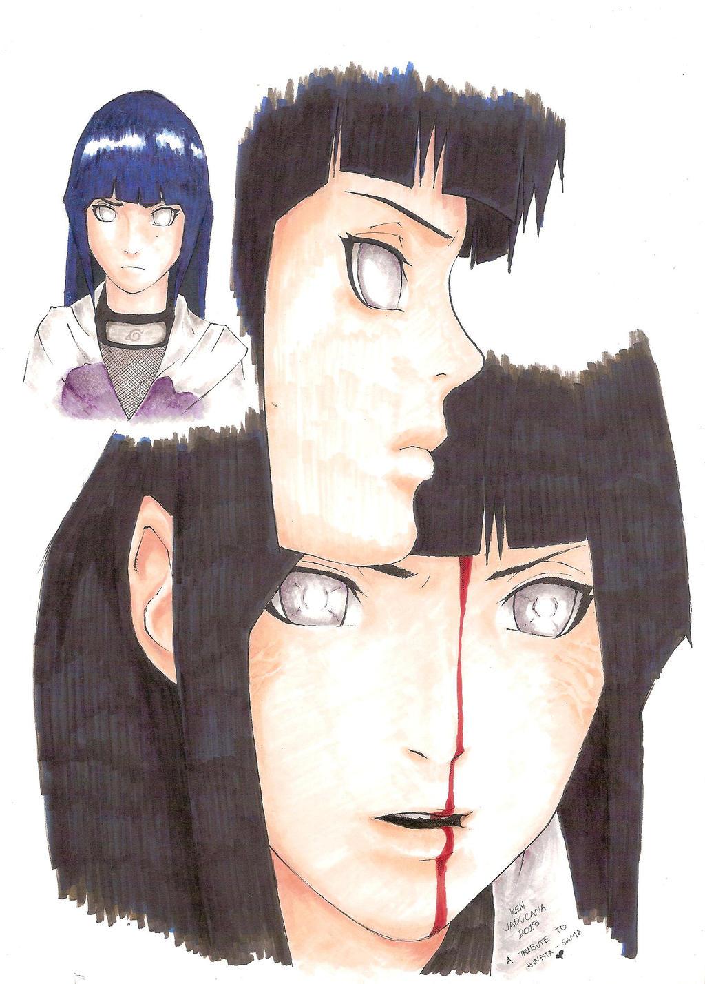 a Tribute to Hinata-sama by jeng3x