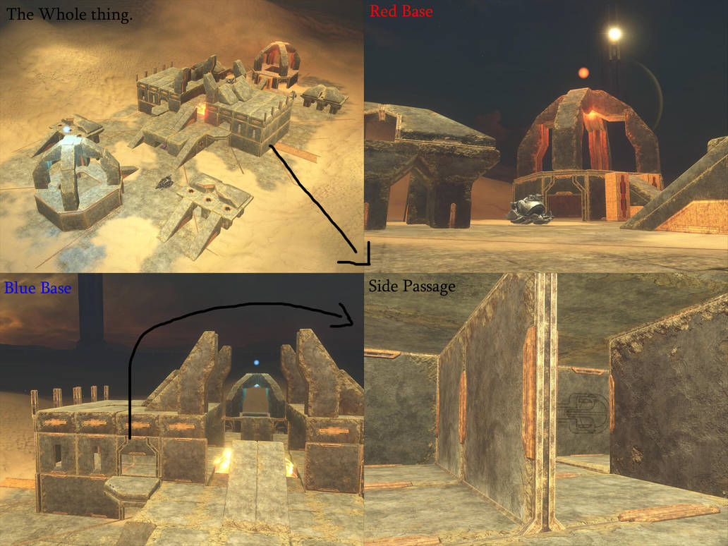 The Cathedral-Halo 3 map by sheep-militia on DeviantArt