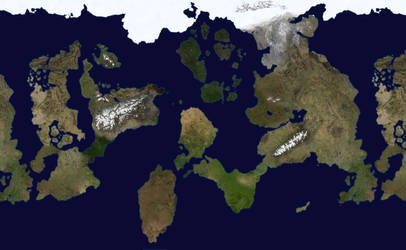 Fantasy World - Geographical Map