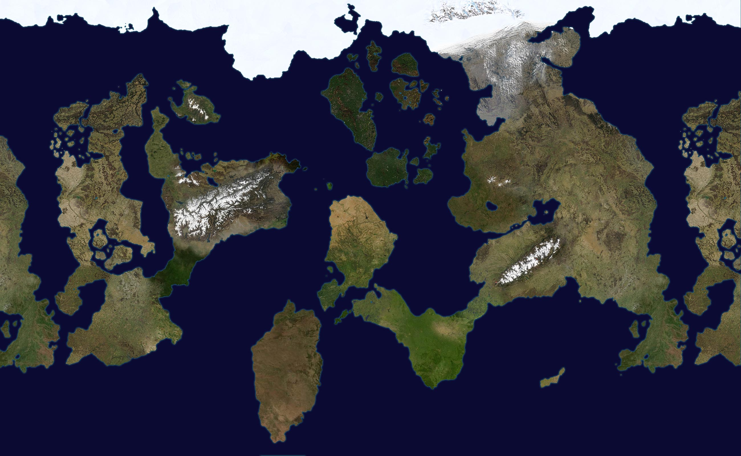 Fantasy World Geographical Map by sheep militia on DeviantArt