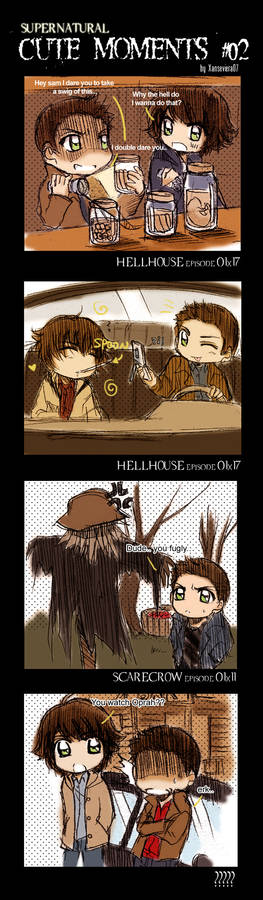 Supernatural+Cute Moments 02