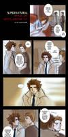 Supernatural+Castiel encounter