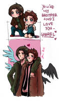 Supernatural+and I love you by xanseviera