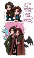 Supernatural+and I love you
