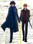 Sherlock+ flatmate