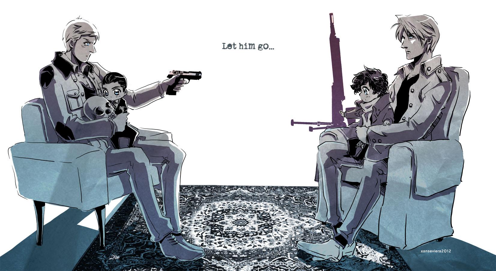 Sherlock+haywire by xanseviera