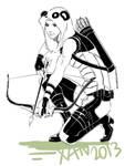 Arrow+Pandaman