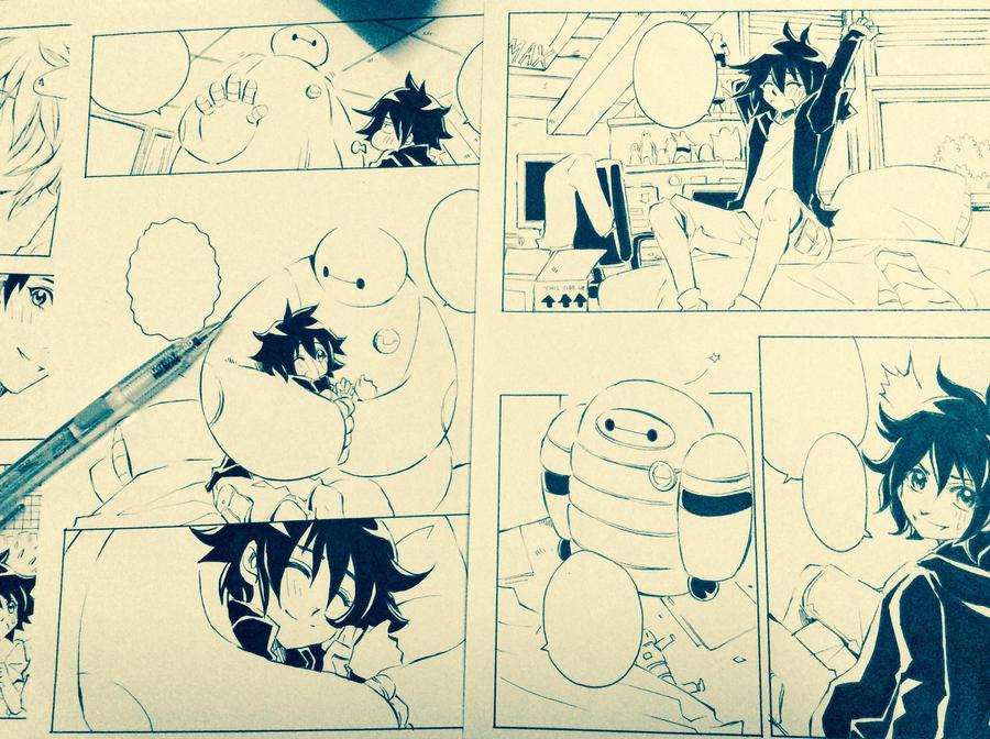 Big Hero 6 + doujinshi by xanseviera