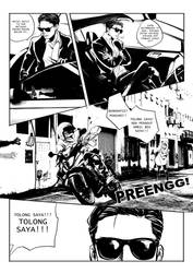 UBER+ comic page tease