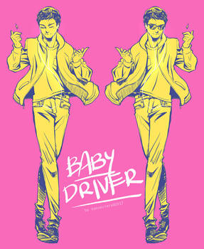 Baby Driver + No where to run to Baby