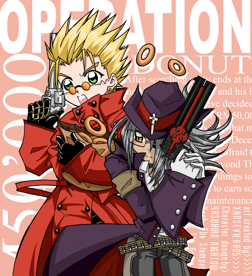 Vash N Gravedonut Rescue By Xanseviera On Deviantart
