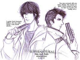 supernatural+winchesters by xanseviera