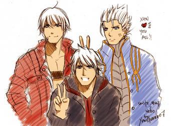DMC+super trio by xanseviera
