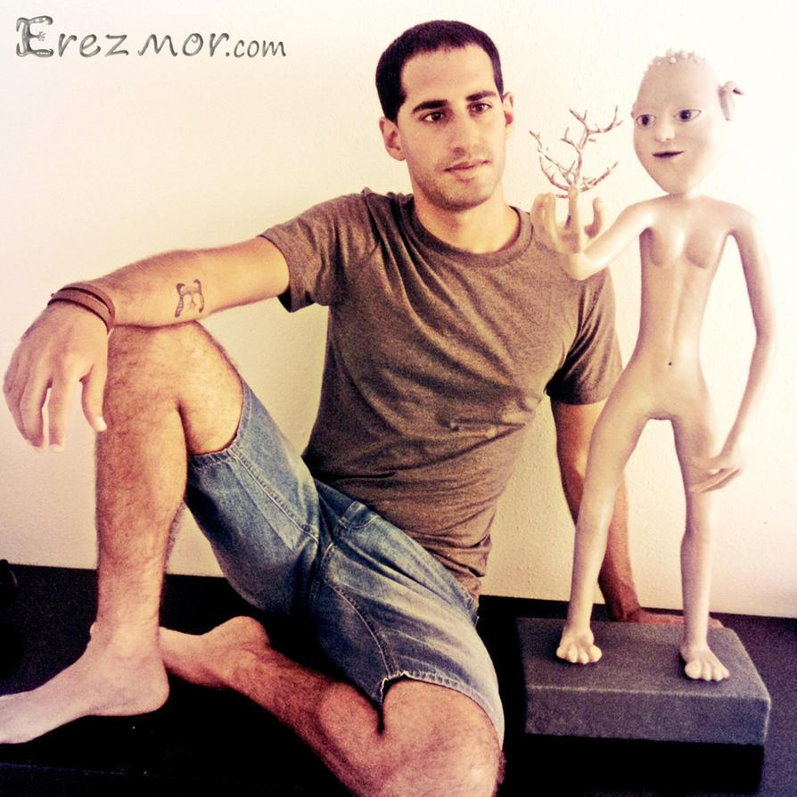 Handmade statue of Alien La-La by erez-mor