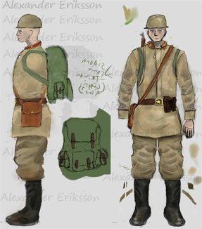 Concept Soviet Soldier by Alioli1