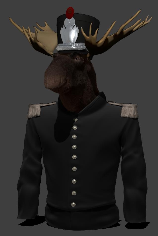 Moose by Alioli1
