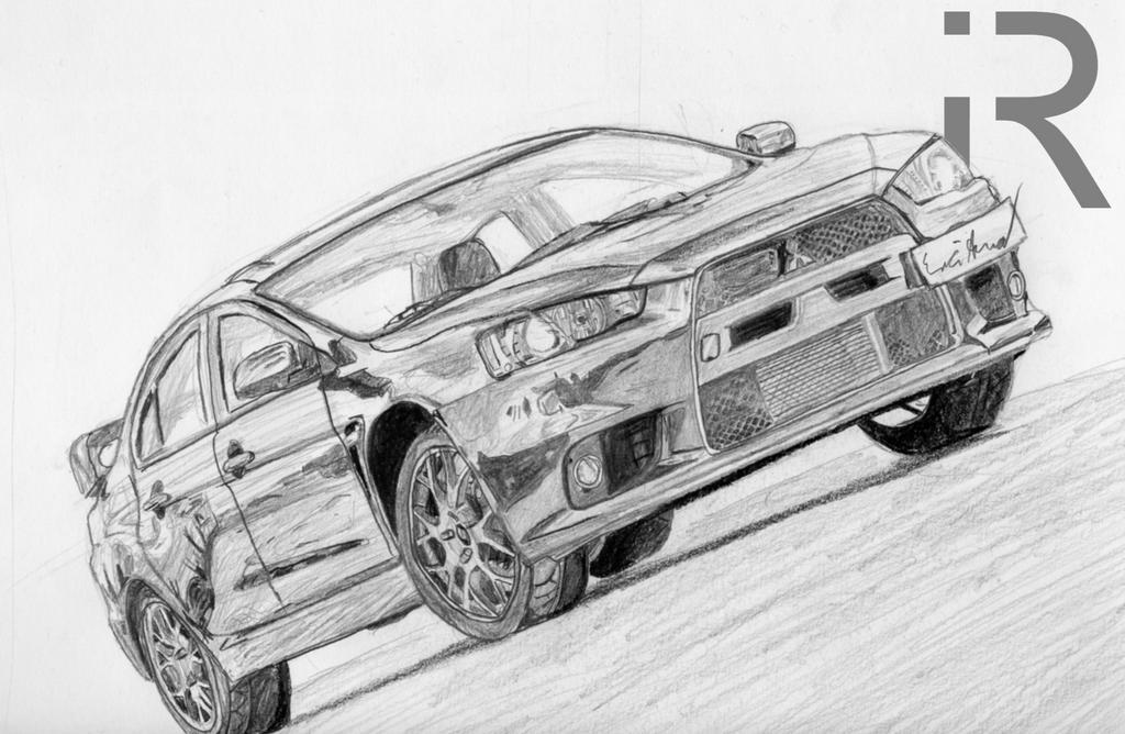 Mitsubishi Lancer Sportback coloring page | Free Printable ...